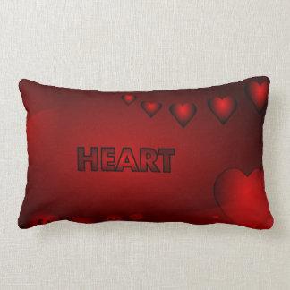 Shaded Hearts - Lumbar Pillow