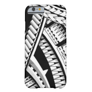 Shaded Samoan inspired tattoo Barely There iPhone 6 Case