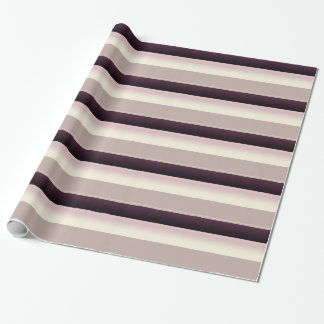Shaded Stripes Wrapping Paper