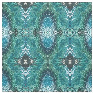 Shades Bright Blue & Green Beach Fabric 'Venice'