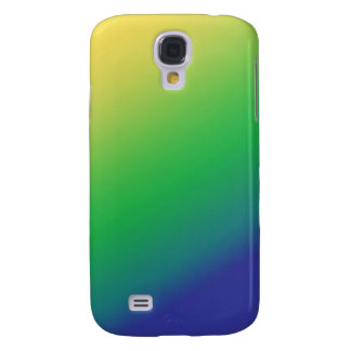 Shades Green Yellow: Add text image greeting Galaxy S4 Cases