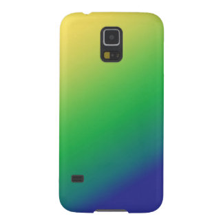 Shades Green Yellow: Add text image greeting Galaxy S5 Cover