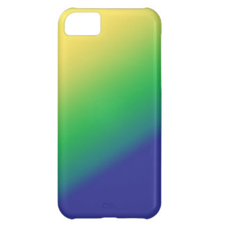 Shades Green Yellow: Add text image greeting Cover For iPhone 5C