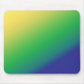 Shades Green Yellow: Add text image greeting Mouse Pad
