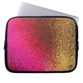 Shades in Purple and Gold Laptop Sleeve