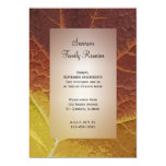 "Shades of Autumn Family Reunion Invitation 5"" X 7"" Invitation Card"