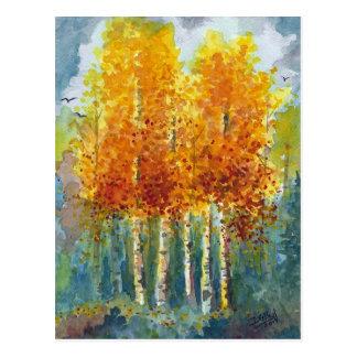 Shades of Autumn Postcard