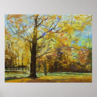 Shades of Autumn Print