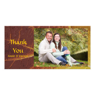 Shades of Autumn Thank You Card