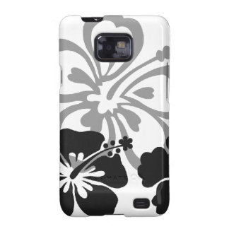 Shades of Black and Gray aloha design Samsung Galaxy S2 Cases