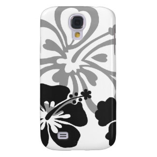 Shades of Black and Gray aloha design Samsung S4 Case