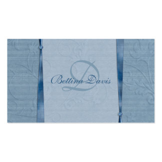 Shades of Blue Business Card Template