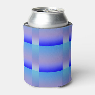 Shades of Blue Can Cooler