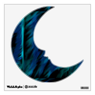 Shades of Blue Decal Wall Skins