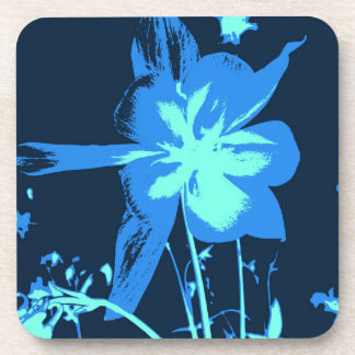 Shades of Blue Drink Coaster