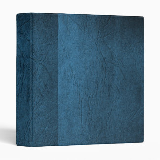 Shades of blue-Faux Leather Binder/Album 3 Ring Binder