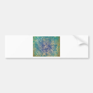 Shades Of Blue Gifts Bumper Stickers