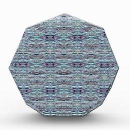 Shades of Blue Gray Background Pattern Award