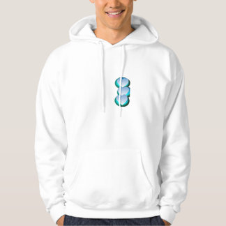 Shades Of Blue Hooded Pullover