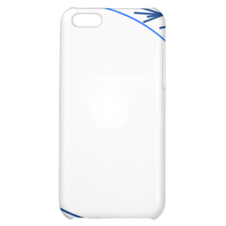 Shades of Blue Minimalist Cat (Speck Case) Case For iPhone 5C