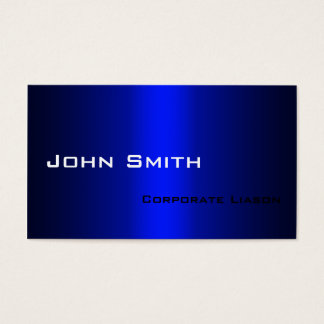 Shades of Blue Modern Professional Business Cards