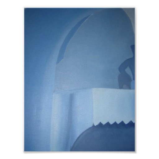 Shades of Blue Posters
