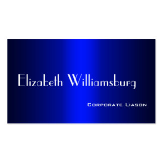 Shades of Blue Professional Standard Business Card