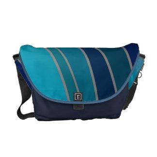 Shades of Blue Rickshaw Messenger Bag