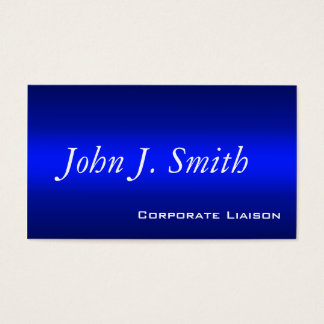 Shades of Blue Standard Business Cards