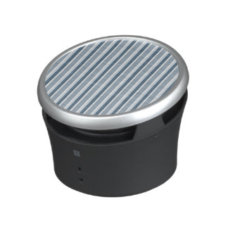 Shades of Blue Stripes Bluetooth Speaker