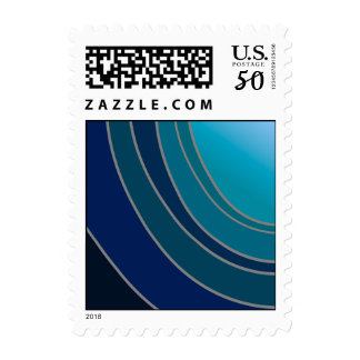 Shades of Blue US Postage