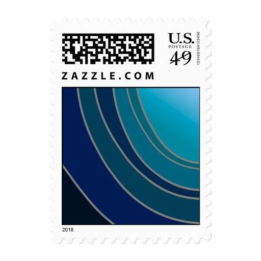 Shades of Blue US Postage