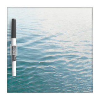Shades of Blue Water Abstract Nature Photography Dry-Erase Board