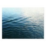 Shades of Blue Water Abstract Nature Photography Photo Print