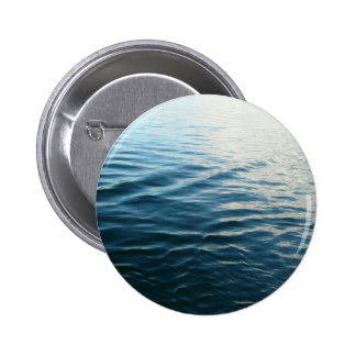 Shades of Blue Water Abstract Nature Photography Pinback Button
