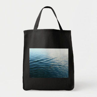 Shades of Blue Water Abstract Nature Photography Tote Bag
