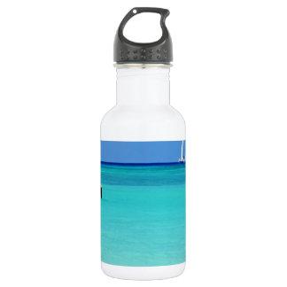 Shades of Blues.JPG 18oz Water Bottle