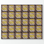 [ Thumbnail: Shades of Brown 60th Birthday Wrapping Paper ]