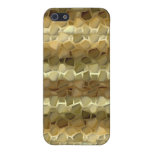 Shades Of Brown Stones Iphone 4 Case