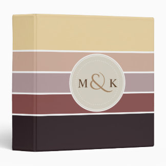 Shades of Chocolate Color Palette 001 Binder