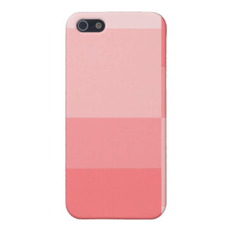 Shades of Coral Modern Color Progression iPhone SE/5/5s Case