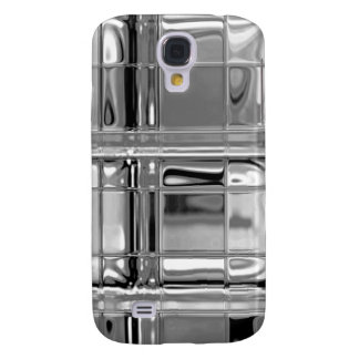 Shades of Gray Glass Mosaic Galaxy S4 Covers