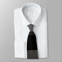 Shades of Gray Necktie