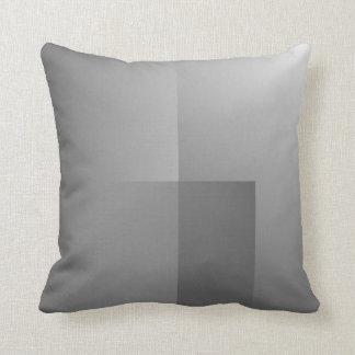 shades of gray pillow