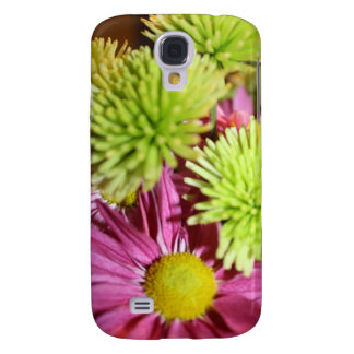 Shades of Green and Pink Samsung S4 Case