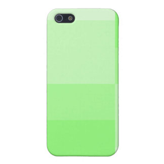 Shades of Green Modern Color Progression Case For iPhone SE/5/5s