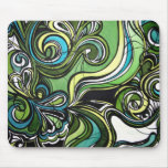 Shades of Green Mouse Pad
