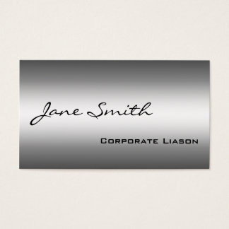 Shades of Grey Modern Professional Business Cards