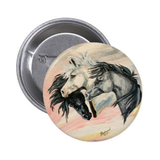 Shades of grey pinback button