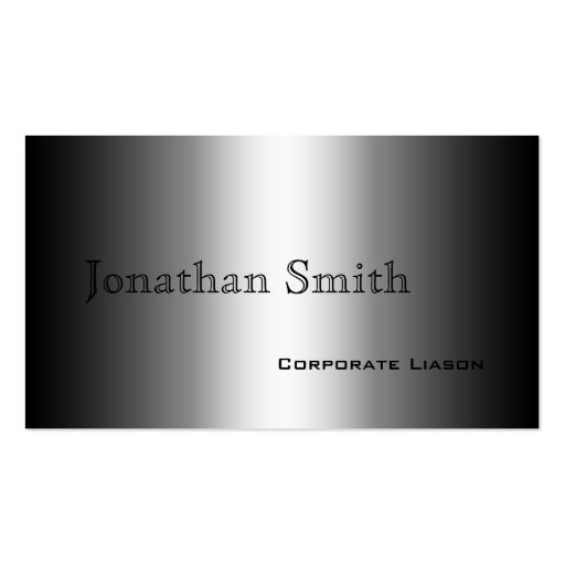 Shades of Grey Standard Business Cards